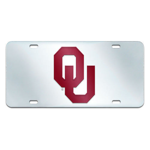University of Oklahoma Inlaid License Plate