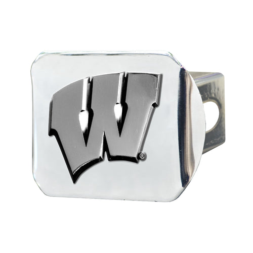 University of Wisconsin Chrome Hitch Cover
