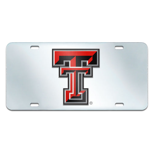 Texas Tech University Inlaid License Plate