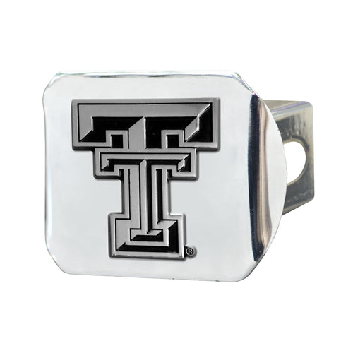 Texas Tech University Chrome Hitch Cover