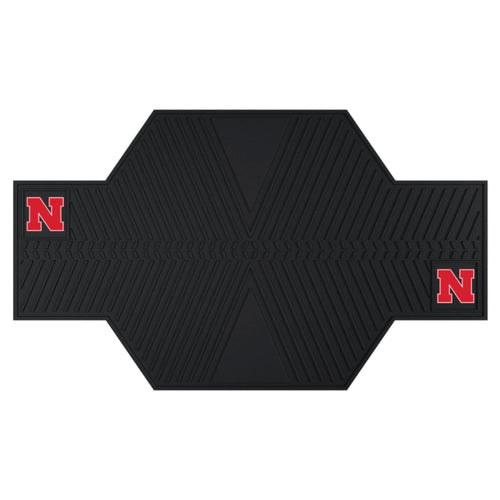 University of Nebraska Motorcycle Garage Mat