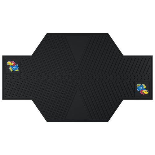 University of Kansas Motorcycle Garage Mat