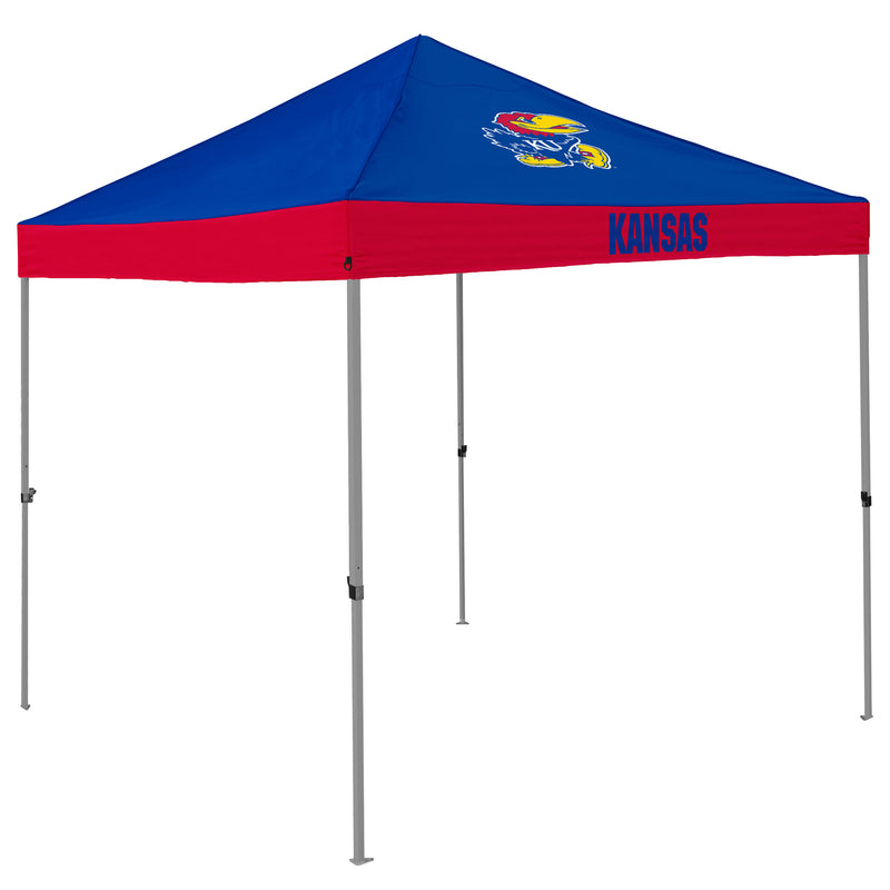University of Kansas Mavirk 10x10 Canopy
