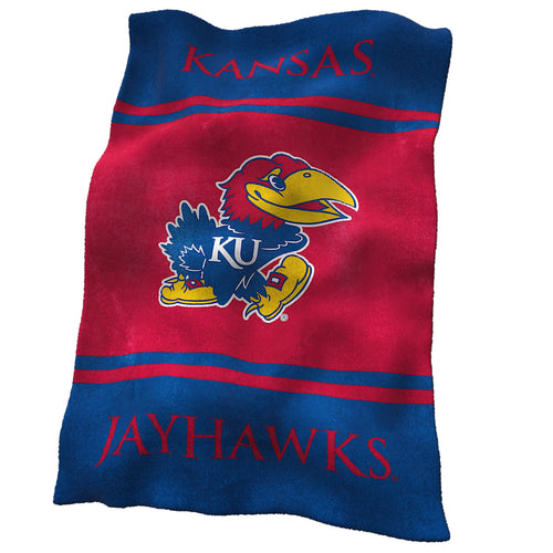 University of Kansas Ultra Soft Blanket