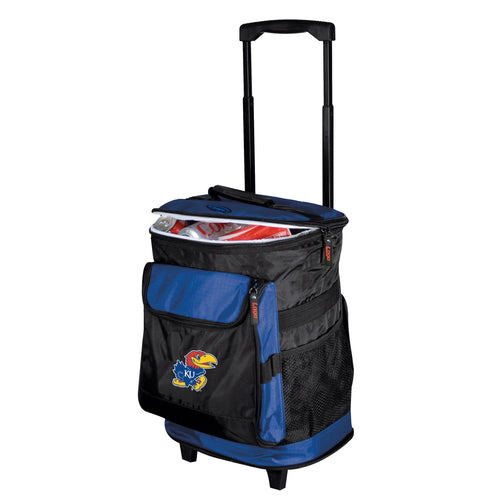 University of Kansas Jayhawks Rolling Cooler