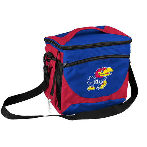 University of Kansas 24 Can Cooler