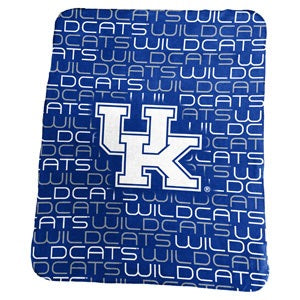 University of Kentucky Classic Fleece Lightweight Blanket