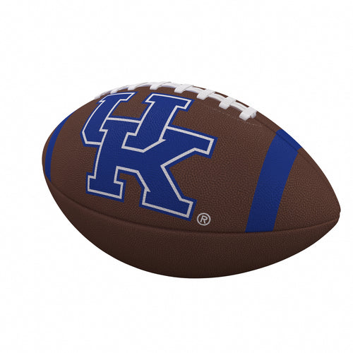 University of Kentucky Full Size Striped Composite Football