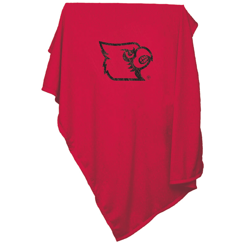University of Louisville Sweatshirt Blanket
