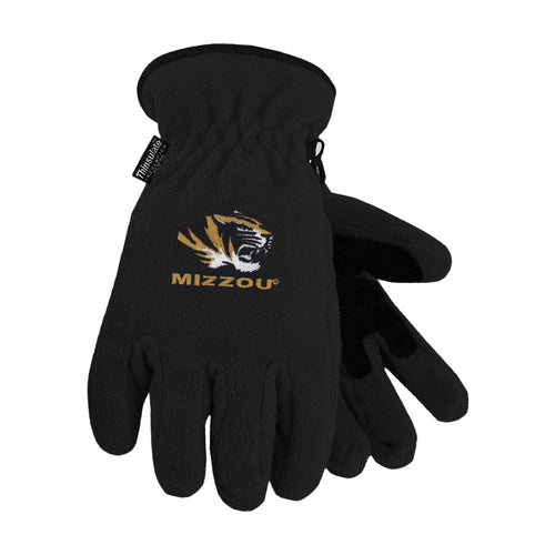 University of Missouri Heavy-Weight Fleece Gloves