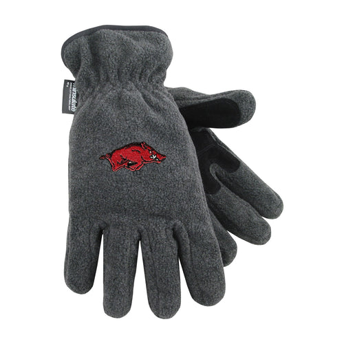 University of Arkansas Heavy-Weight Fleece Gloves