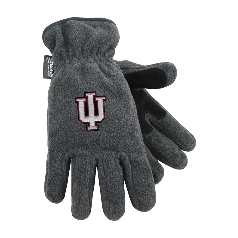 Indiana University Heavy-Weight Fleece Gloves