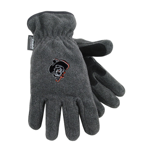 Oklahoma State University Heavy-Weight Fleece Gloves