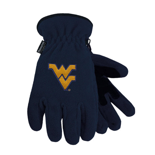 West Virginia University Heavy-Weight Fleece Gloves