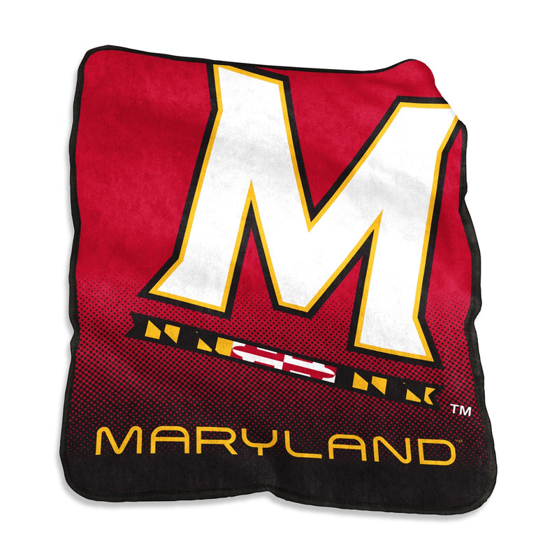 University of Maryland Raschel Blanket