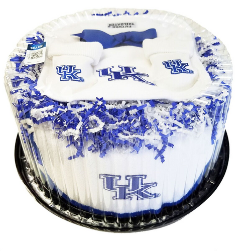 University of Kentucky Piece of Cake Baby Set