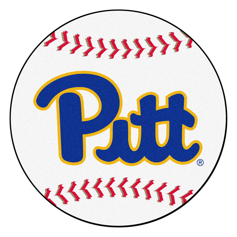 University of Pittsburgh Baseball Area Rug