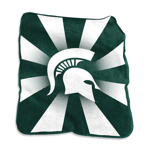 Michigan State University Raschel Blanket