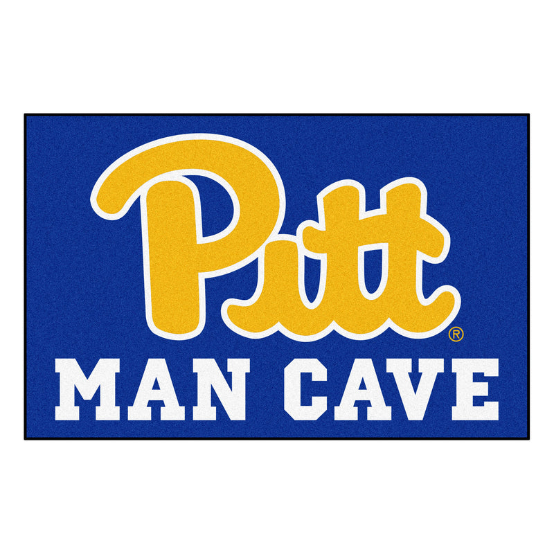 University of Pittsburgh Man Cave Area Rug