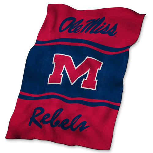 University of Mississippi Ultra Soft Blanket