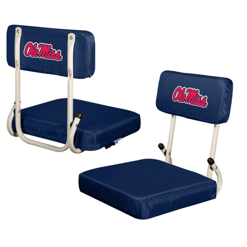 University of Mississippi Hard Back Stadium Chair