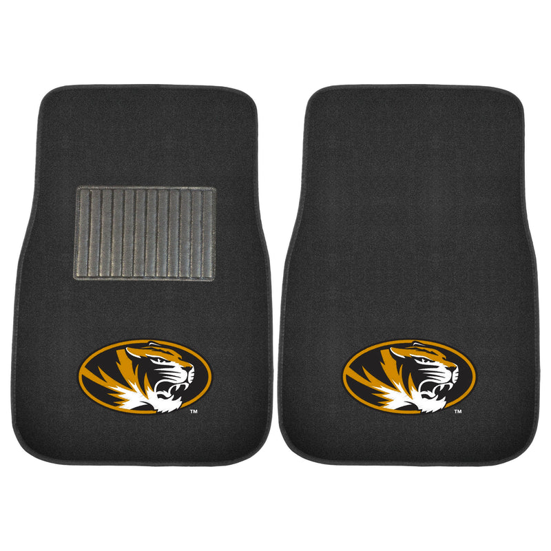 University of Missouri Carpet Car Floor Mats - 2-Piece