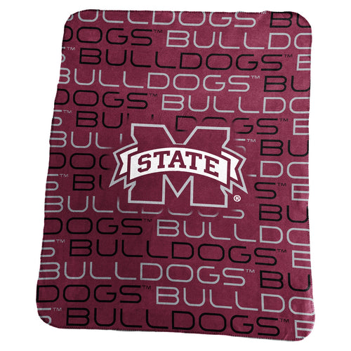 Mississippi State University Classic Fleece Lightweight Blanket