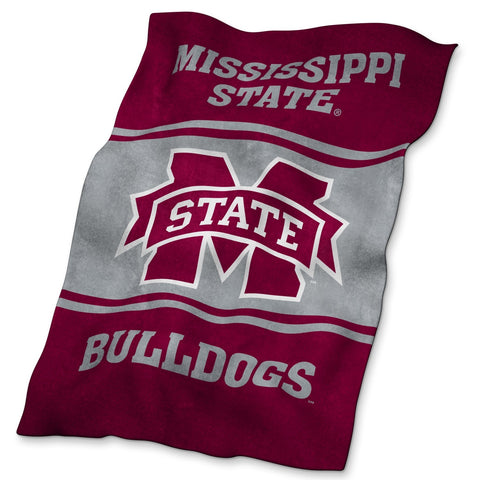 Mississippi State University Ultra Soft Blanket