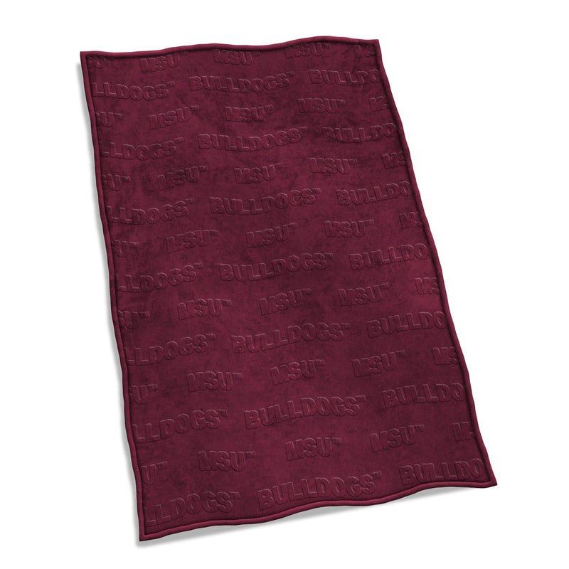 Mississippi State University Velvet Plush Blanket