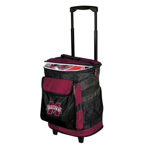 Mississippi State University Bulldogs Rolling Cooler