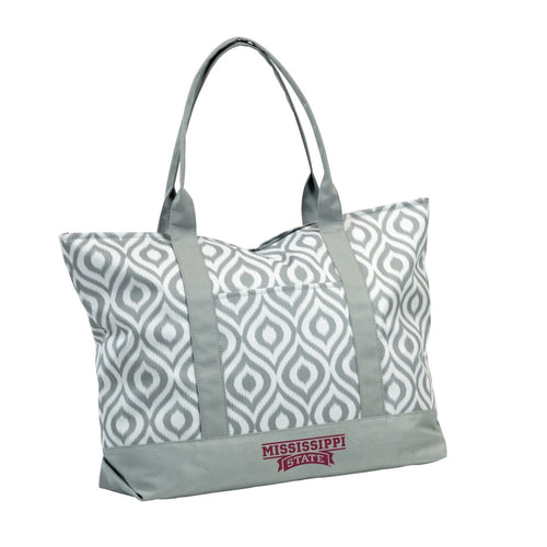 Mississippi State University Ikat Tote
