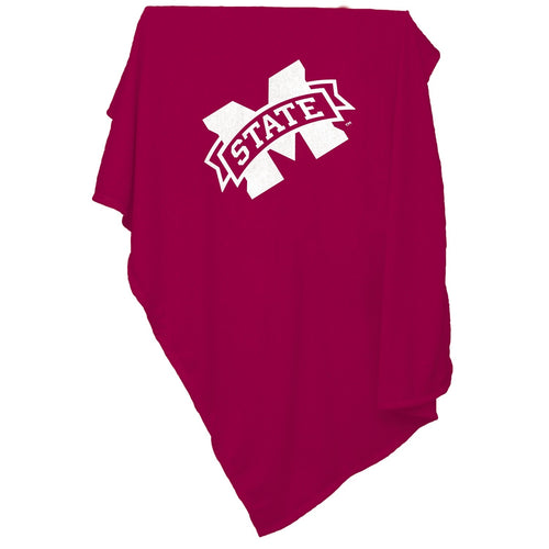 Mississippi State University Sweatshirt Blanket