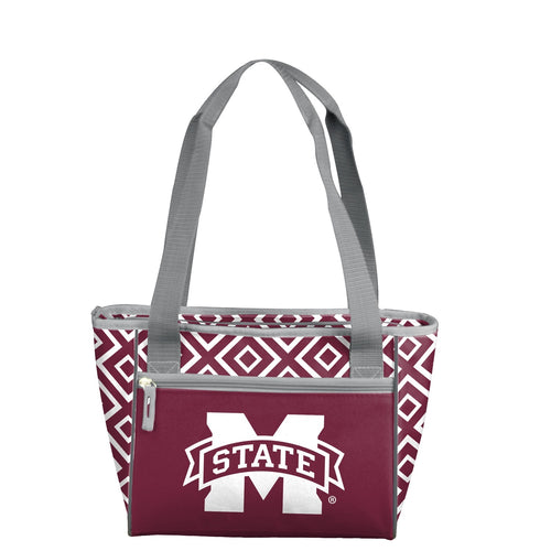 Mississippi State University Double Diamond 16 Can Cooler Tote