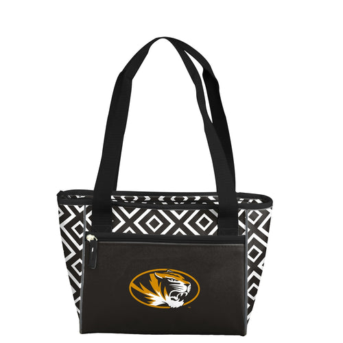 University of Missouri Double Diamond 16 Can Cooler Tote