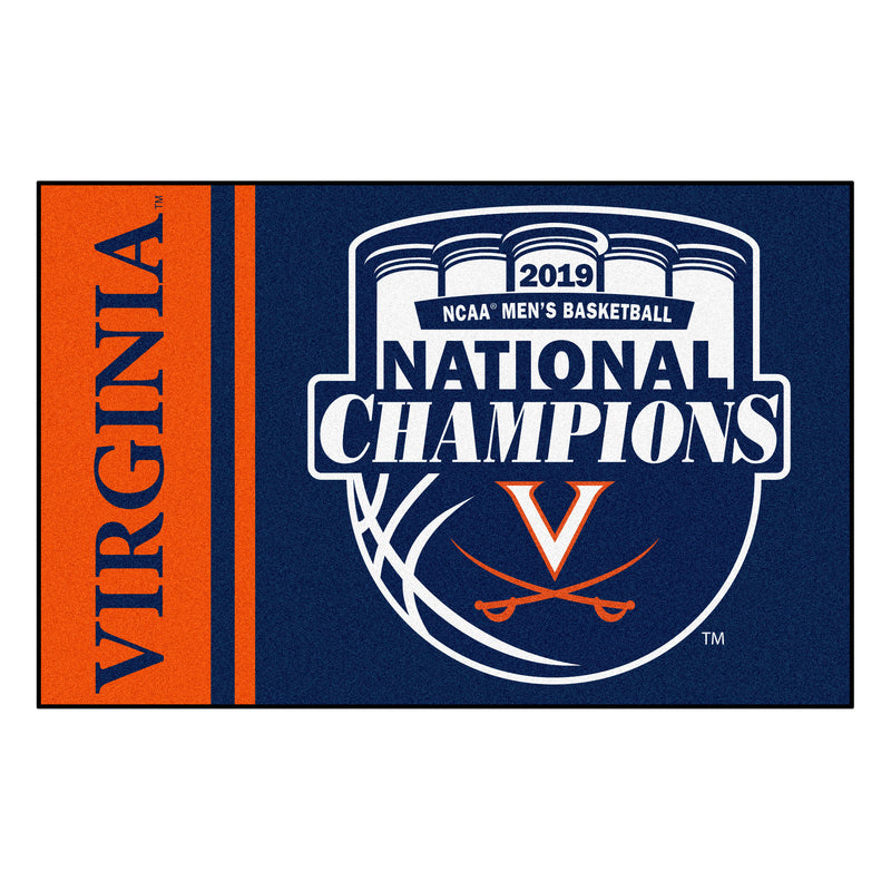 University of Virginia 2019 College Basketball National Champions Starter Rug