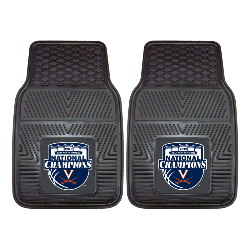 University of Virginia 2019 Basketball National Champs Vinyl Car Floor Mats