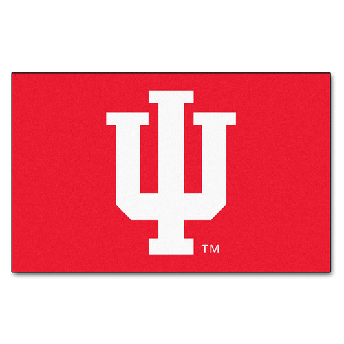 Indiana University Logo Area Rug