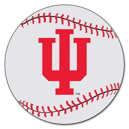 Indiana University Baseball Area Rug