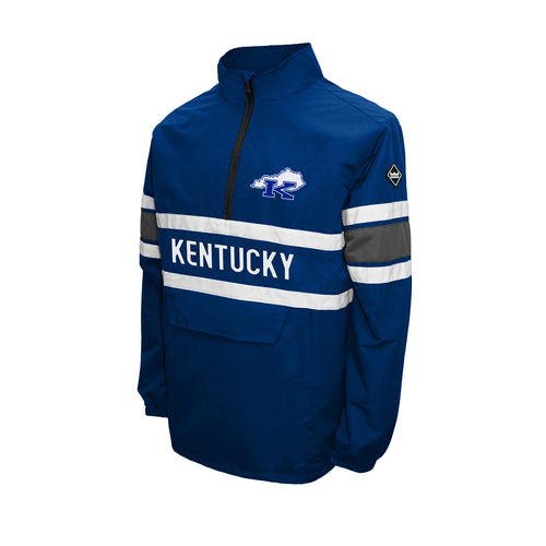 Kentucky Men's Lightweight Quarter Zip Pullover Jacket