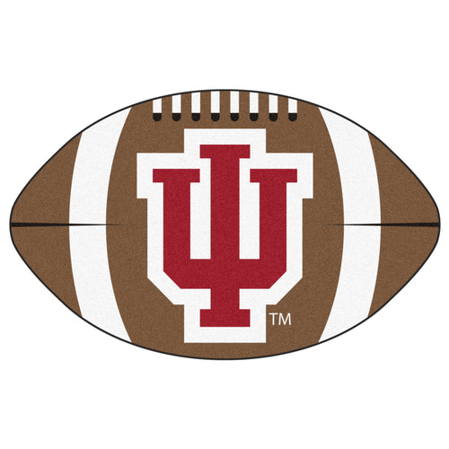 Indiana University Football Area Rug