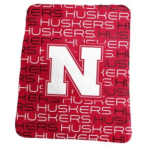University of Nebraska Classic Fleece Lightweight Blanket