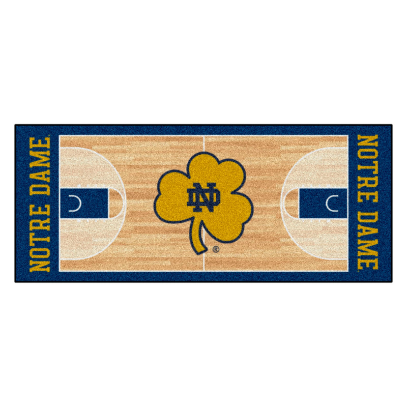University of Notre Dame Basketball Court Runner