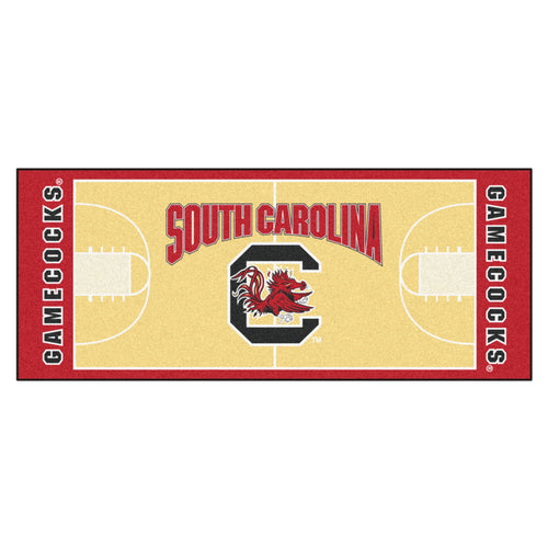 University of South Carolina Basketball Court Runner