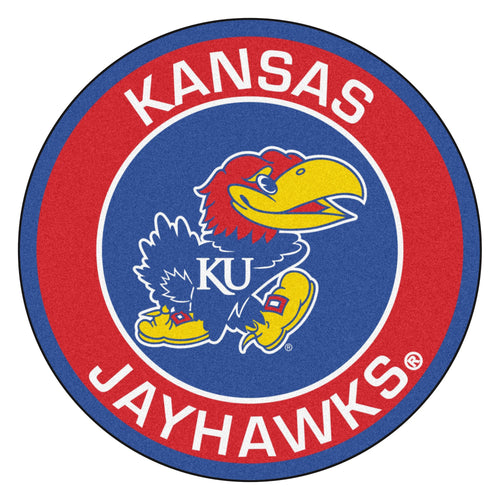 University of Kansas Roundel Mat