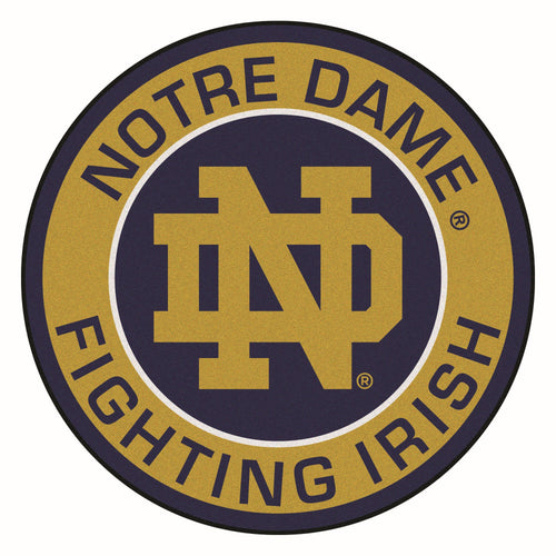 University of Notre Dame Roundel Mat