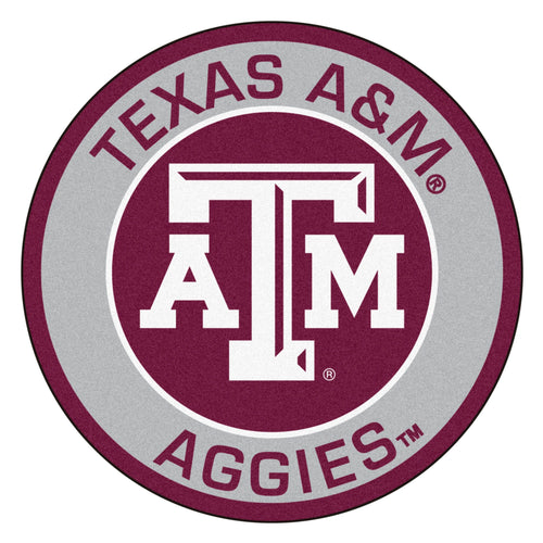 Texas A&M Roundel Mat