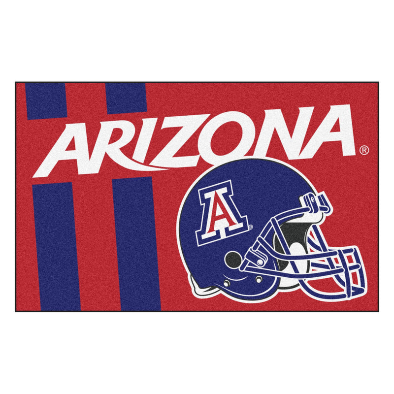 University of Arizona Custom Logo Starter Rug