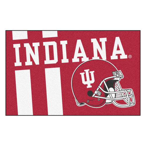 Indiana University Custom Logo Starter Rug