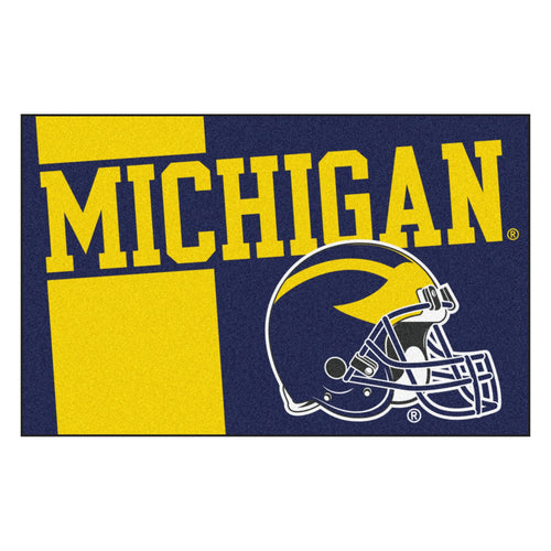 University of Michigan Custom Logo Starter Rug