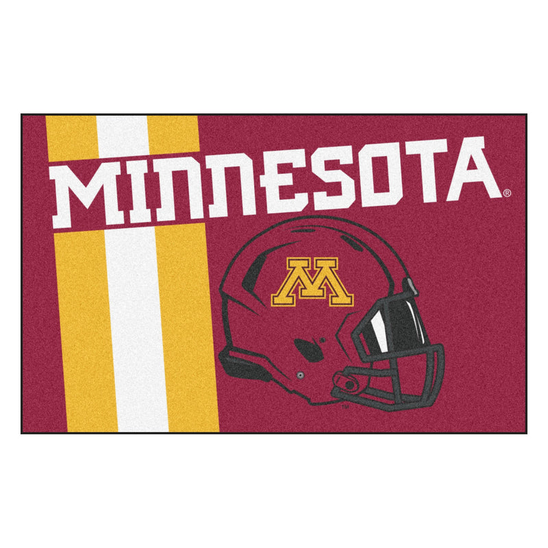 University of Minnesota Custom Logo Starter Rug
